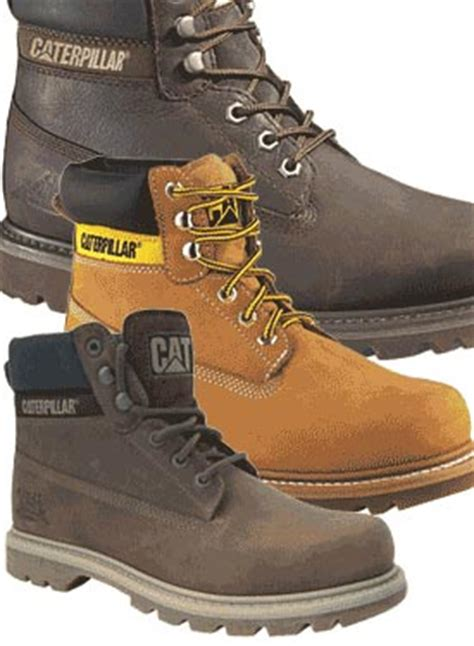 leather work shoes caterpillar colorado compare prices mens caterpillar boots
