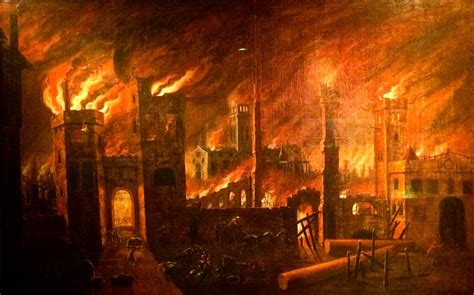 The fire at grenfell tower in latimer road was reported at 00:54 bst. 350 years ago today: the Great Fire of London is alight ...
