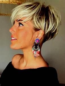 Coupe Courte De Cheveux Femme : coupe de cheveux tres courte femme 2019 ~ Dallasstarsshop.com Idées de Décoration