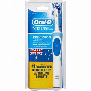 Oral-b Vitality Plus Powered Toothbrush Precision Clean ...