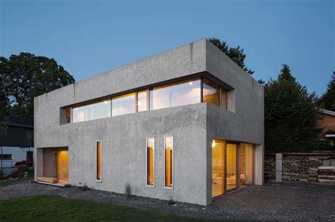 Schöne Wohnhäuser by Musterhaus Architektenpaar Baut In D 228 Mmbeton A Ma 206 Tres