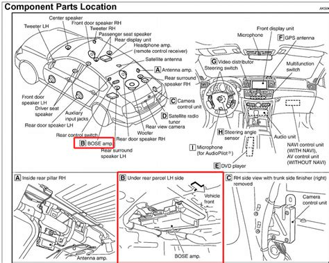 Infiniti Start Wiring Diagram by I An 06 Infiniti M35 And The Sound Will Stop Working