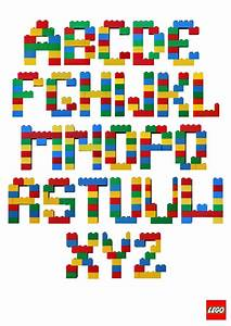 Lego letters kids pinterest for Lego letters