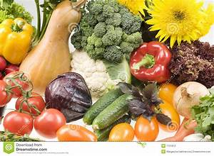 Big Group Of Vegetable Food Objects Stock Photography ...
