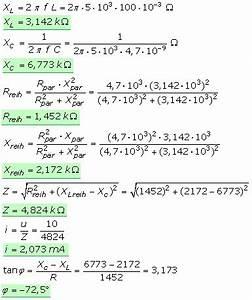 Widerstand In Reihe Berechnen : quivalente reihen und parallelschaltungen im wechselstromkreis ~ Themetempest.com Abrechnung