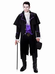 Gothic Kleidung Auf Rechnung : vampir kost m im gothic style f r herren kost me f r erwachsene und g nstige faschingskost me ~ Themetempest.com Abrechnung