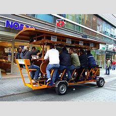 Beer Bike  Is That Safe?!  7 Most Weird Forms Of Transport