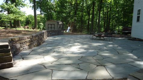 patio flagstone ideas 20 best stone patio ideas for your backyard home and gardens