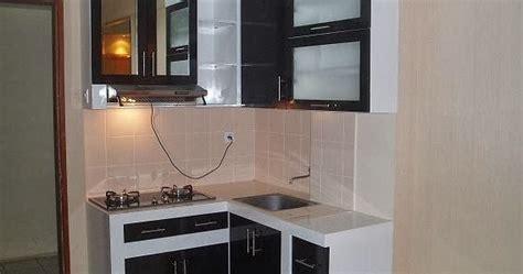 gambar desain dapur mini  ruang terbatas model