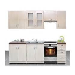 cuisine equipee pas cher cuisine équipée de 2m60 océlia pas cher et moderne bois clair