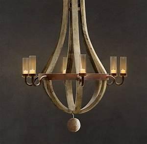 Best wine barrel chandelier ideas on
