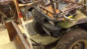 Manual Atv Snow Plow Lift