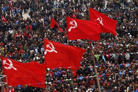 nepal kathmandu maoists  communists celebrate pope