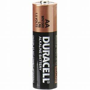 Batterie 1 5v Aa : duracell 1 5v aa coppertop alkaline batteries 2 pack mn1500b2 ~ Markanthonyermac.com Haus und Dekorationen