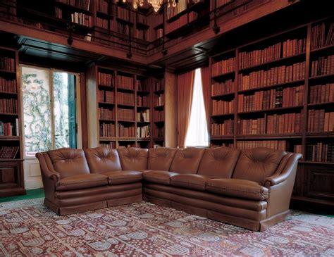 Leather Corner Sofa Firenze