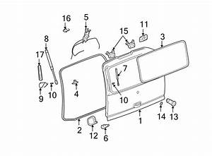 Gmc Yukon Xl 1500 Liftgate Lock  Cylinder