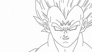 Majin Vegeta Coloring Pages Printable Coloring Pages