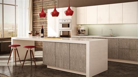 cuisine blanche contemporaine cuisine kitchen renovation and installation cuisines