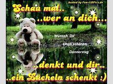 Schönen Donnerstags Gruss GB Bild animiert Facebook