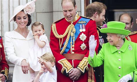 queen grandchildren george prince grandma mia comments tindall rare charlotte