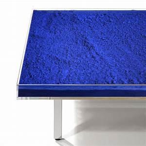 Bleu De Klein : bleu klein tableau tableau bleu klein prix resine de ~ Melissatoandfro.com Idées de Décoration