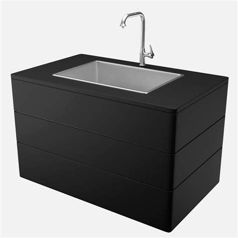 kitchen sink models kitchen sink and faucet 3d model 2791