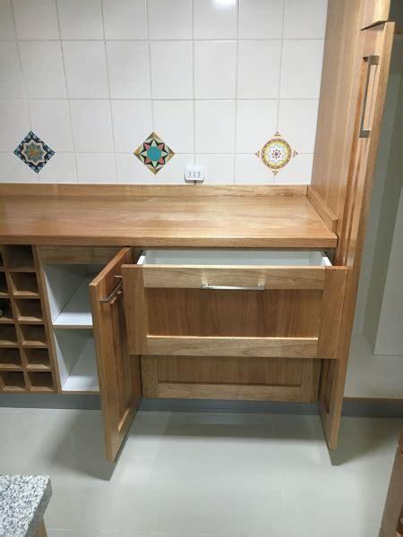 foto mueble cocina cubierta granito maderamelamina de