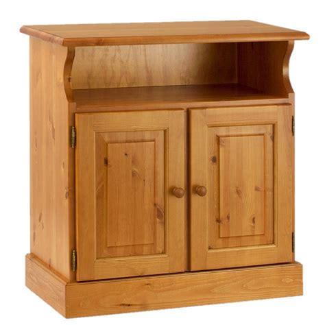 mobili in legno di pino porta tv 2 ante e vano a giorno in legno di pino massello
