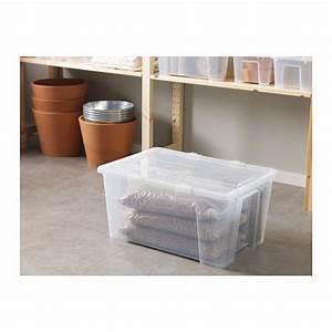 Samla Box Ikea : ikea samla big box with lid furniture on carousell ~ Watch28wear.com Haus und Dekorationen