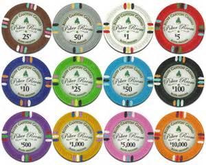 Casino Poker Chip Values