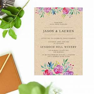 rustic floral wedding invitations sail and swan With rustic wedding invitations perth