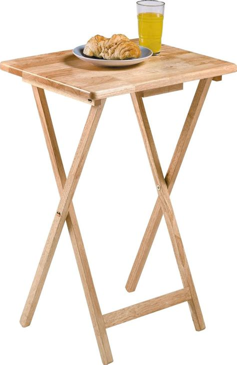 Single Folding Wooden Tray Table  Natural  Ebay. High Coffee Table. Table Lighting. Old Metal School Desk. Coffee Table Bases For Glass Tops. White Desk Chair Target. Desk Heater For Hands. Bunk Bed With A Desk. Best Cabinet Table Saw