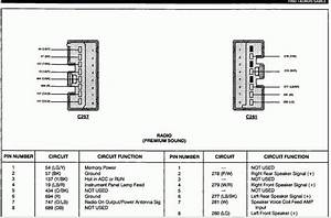 2003 Ford Taurus Radio Wiring Diagram