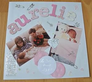 Album Photo Fille : pages scrapbooking naissance ~ Teatrodelosmanantiales.com Idées de Décoration