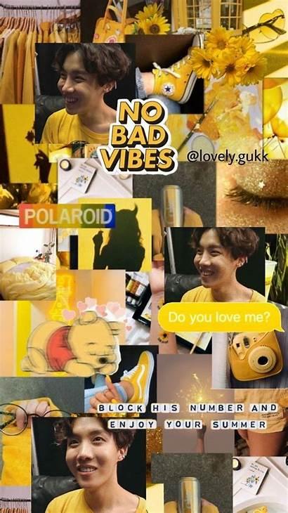 Hoseok Aesthetic Hope Yellow Wallpapers Jhope Bts