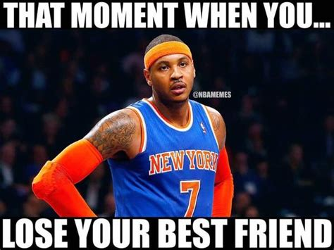 Carmelo Anthony Memes - 53 best nba meme images on pinterest funny memes memes humor and nba funny