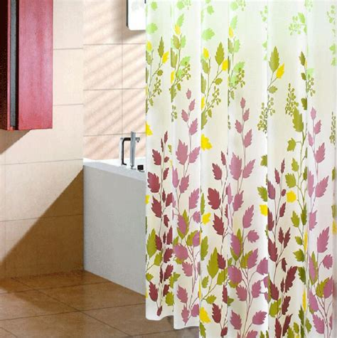 polyester oxford printed shower curtain fabric waterproof