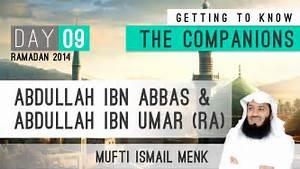 Mufti Menk Medi... Abdullah Ibn Umar Quotes
