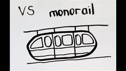 Monorail Draw Easy Simple Vivi Fun
