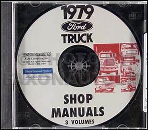 1979 Ford Truck Shop Manual Cd F100 F150 F250 F350 Bronco