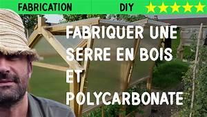 Fabriquer Une Serre En Bois : fabriquer une serre en bois et polycarbonate youtube ~ Melissatoandfro.com Idées de Décoration