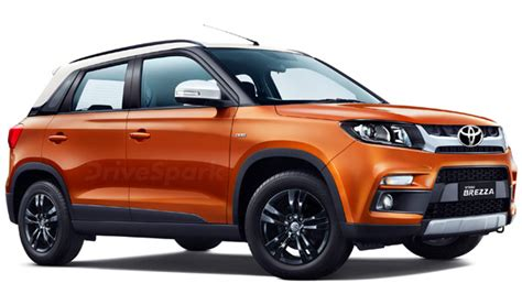 toyota  launch  badged vitara brezza