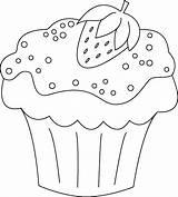 Cupcake Coloring Cupcakes Zum Colorear Ausmalen Ausmalbilder Muffins Muffin Das Dibujos Neu Inspirational Bild Desenho Imagen Malvorlagen Realistic Erster Tag sketch template