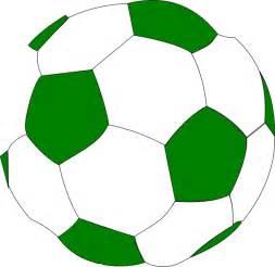 Green Soccer Ball Clip Art