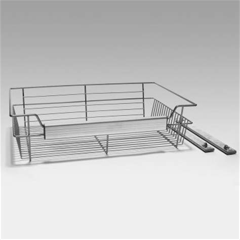 louis home wire basket for deluxe closet system