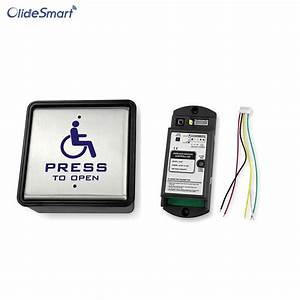 Handicapped Wireless Push Switch For Automatic Swing Door