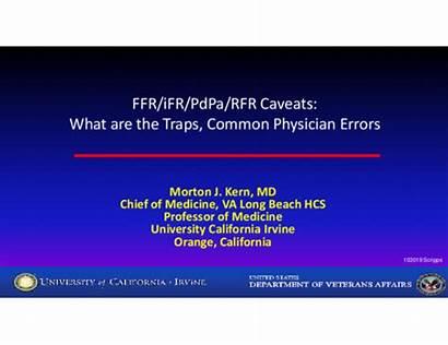 Ffr Rfr Ifr Physician Traps Errors Caveats