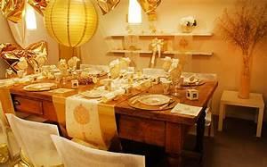 Table De Fete Decoration Noel : les 5 plus belles d corations de table de no l 2015 ~ Zukunftsfamilie.com Idées de Décoration