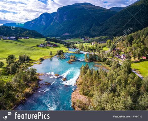 Beautiful Nature Norway Aerial Photography