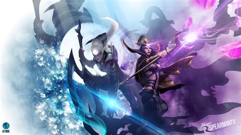 wallpaper illustration anime league  legends